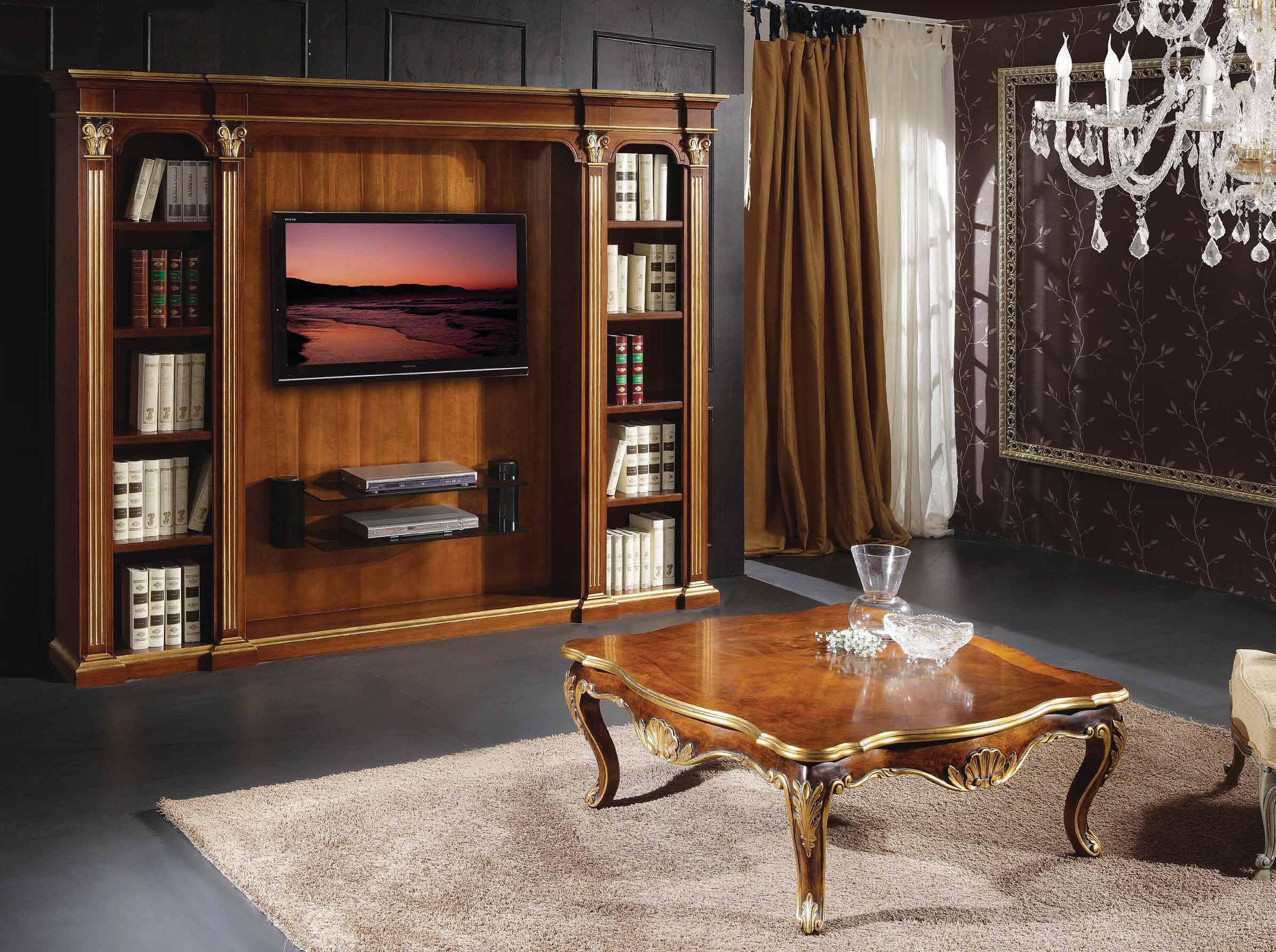 Шкаф для книг art. 2007, scappini - мебель для тв аппаратуры.